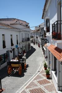 Mijas Pueblo Calle Málaga