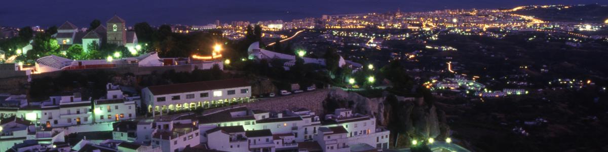 Mijas Pueblo de Noche